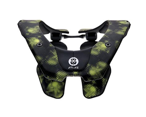 Atlas Neck Braces Air Neck Brace (Virus Black/Green) (M)