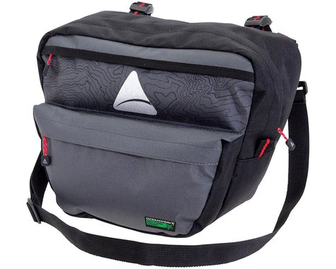Axiom Seymour Oceanweave P7 Handlebar Bag (Black/Gray)