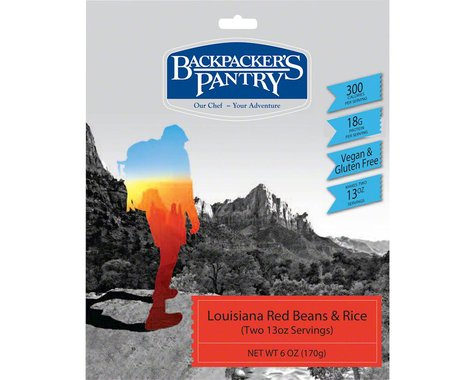 Backpacker's Pantry Louisiana Beans and Rice: 2 Servings