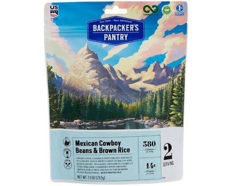 Backpacker's Pantry Mexican Cowboy Beans and Rice: 2 Servings