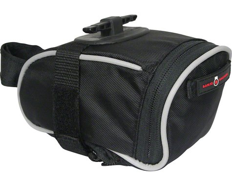 Banjo Brothers Quick Release Saddle Bag (Black) (M)