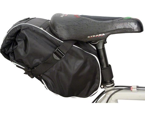 Banjo Brothers Waterproof Saddle Trunk (Black) (L)