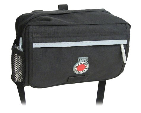 Banjo Brothers Handlebar Bag (Black) (M)
