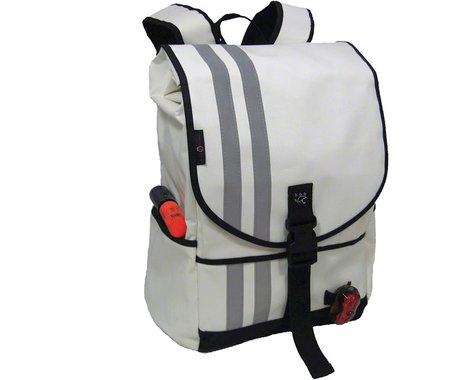 Banjo Brothers Commuter Backpack (White) (M)