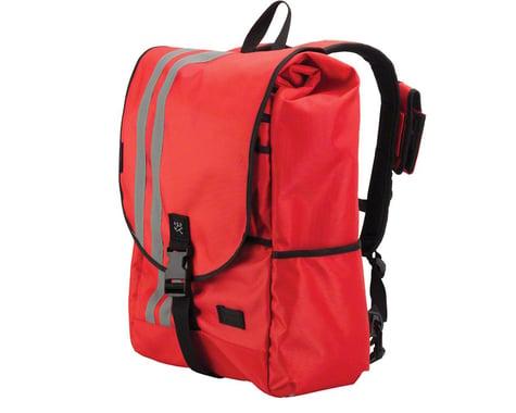 Banjo Brothers Commuter Backpack (Red) (L)