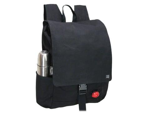 Banjo Brothers Minnehaha Canvas Commuter Backpack (Black)
