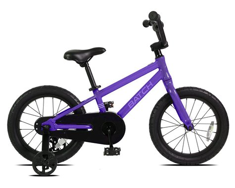 "Batch Bicycles 16"" Kids Bike (Matte Majestic Purple)"