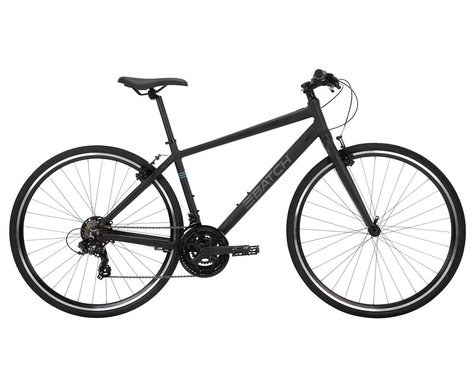 Batch Bicycles 700c Fitness Bike (Matte Pitch Black) (S)