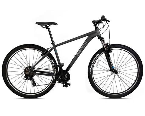 """Batch Bicycles 27.5"""" Hardtail Mountain Bike (Matte Pitch Black) (S)"""