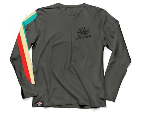 Bell Vintage Moto Long Sleeve T-Shirt (Grey) (M)