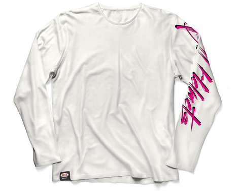 Bell Vintage Moto Long Sleeve T-Shirt (White) (M)