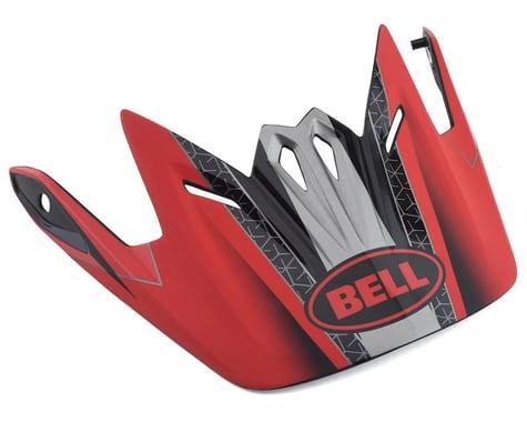Bell Full-9 Replacement Visor (Crimson/Black/White)
