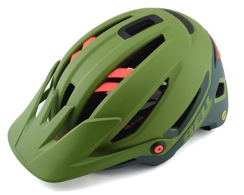 Bell Sixer MIPS Mountain Bike Helmet (Green/Infrared) (L)