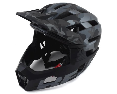 Bell Super Air R MIPS Helmet (Black Camo) (M)