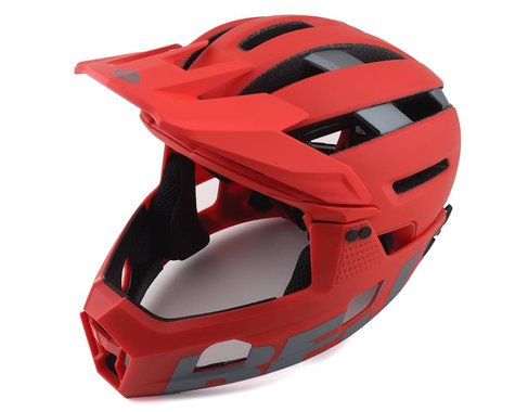 Bell Super Air R MIPS Helmet (Red/Grey) (L)