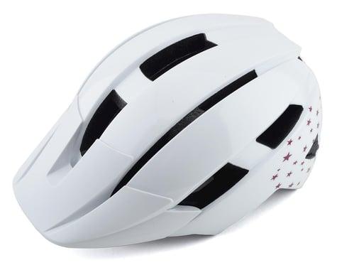 Bell Sidetrack II Kids Helmet (White Stars) (Universal Youth)