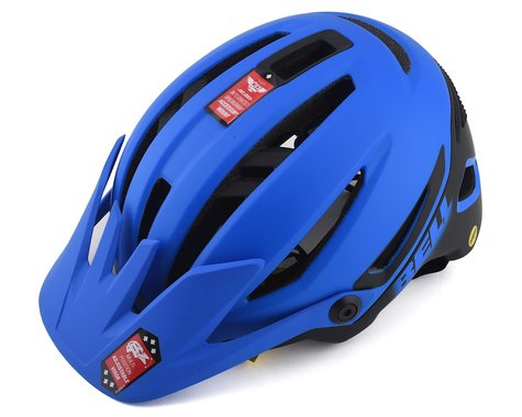 Bell Sixer MIPS Mountain Bike Helmet (Matte Blue/Black) (S)
