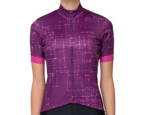 Bellwether Women's Galaxy Jersey (Sangria) (L)