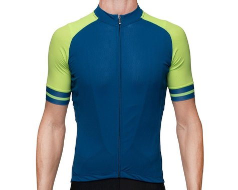 Bellwether Men's Flight Jersey (Baltic Blue) (L)
