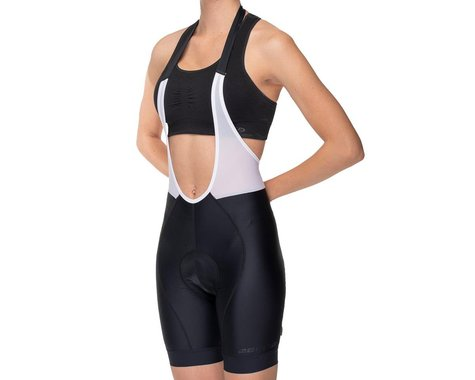 Bellwether Women's Halter Cycling Bib Shorts (Black) (L)