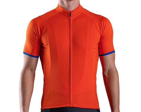Bellwether Criterium Pro Cycling Jersey (Orange) (L)