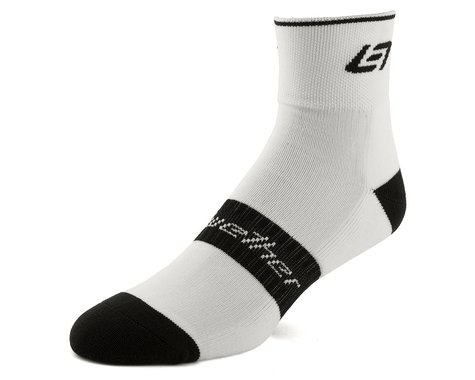 Bellwether Icon Socks (White/Black) (S/M)