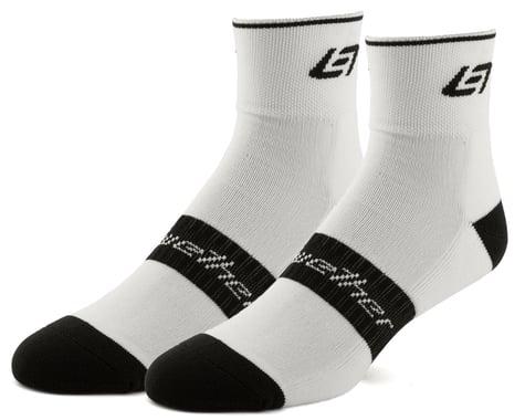 Bellwether Icon Socks (White/Black) (L/XL)