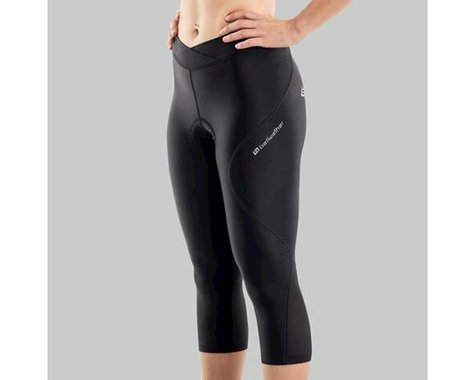 Bellwether Women's Capri Cycling Pant (Black) (XL)