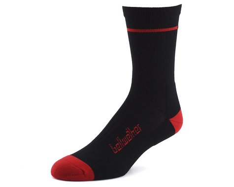 Bellwether Optime Socks (Black/Red) (L)