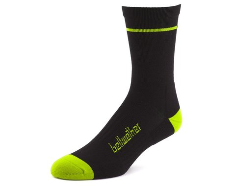 Bellwether Optime Socks (Black/Yellow) (L)