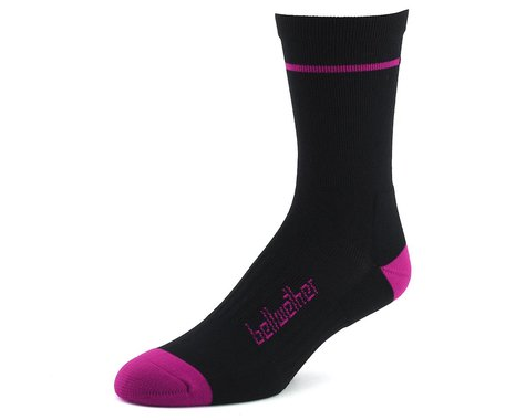 Bellwether Optime Socks (Black/Violet) (S)