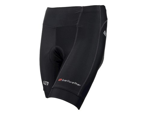 Bellwether Women's Endurance Gel Cycling Shorts (Black) (XS)