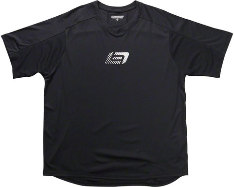 Bellwether Apex Men's Short Sleeve Jersey: Black SM