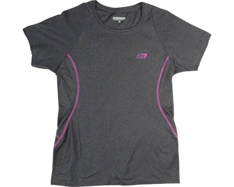 Bellwether Vista Jersey - Charcoal, Short Sleeve, Women's, Medium