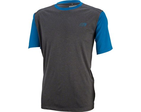 Bellwether Mathis Men's Short Sleeve Jersey (Charcoal) (L)