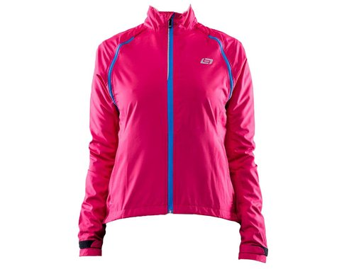 Bellwether Women's Velocity Convertible Jacket (Berry) (L)