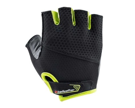 Bellwether Gel Supreme Gloves (Hi-Vis Yellow/Black) (XL)
