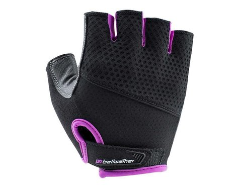 Bellwether Women's Gel Supreme Cycling Gloves (Black/Fuchsia) (S)