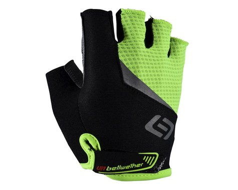 Bellwether Ergo Gel Gloves (Hi-Vis/Black) (L)