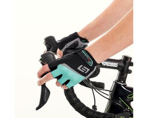 Bellwether Women's Ergo Gel Gloves (Aqua) (L)