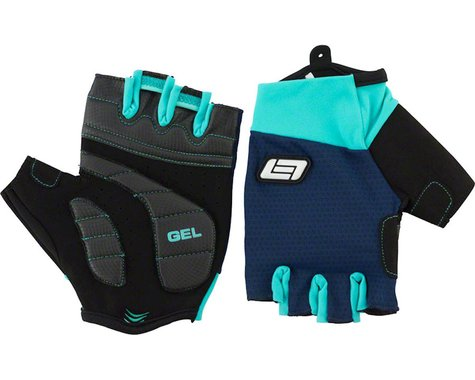 Bellwether Pursuit Gel Short Finger Gloves (Navy) (XL)