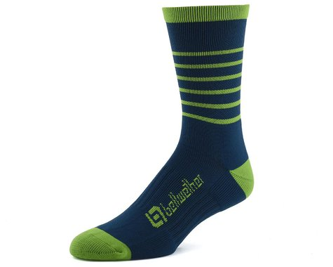 Bellwether Blitz Sock (Baltic Blue/Citrus) (L/XL)