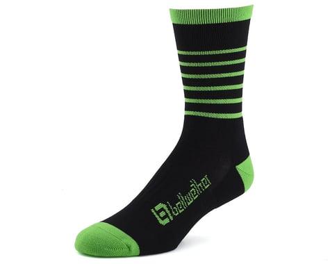 Bellwether Blitz Sock (Black/Citrus) (L/XL)