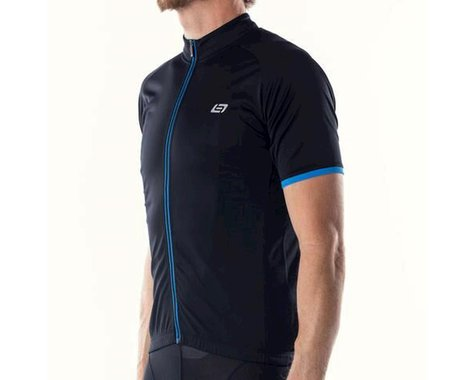 Bellwether Criterium Pro Cycling Jersey (Black/Blue)