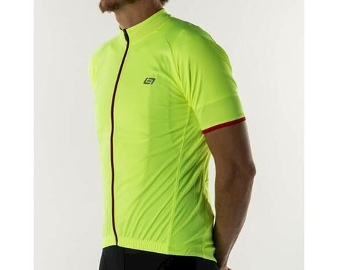 Bellwether Criterium Pro Cycling Jersey (Hi-Vis) (2XL)