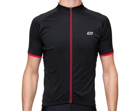 Bellwether Criterium Pro Cycling Jersey  (Black/Ferrari) (M)