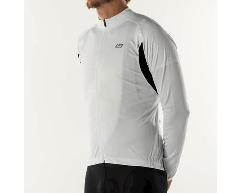 Bellwether Sol-Air UPF 40+ Long Sleeve Cycling Jersey (White) (2XL)