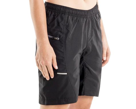 Bellwether Women's Ultralight Gel Baggies Cycling Short (Black) (S)