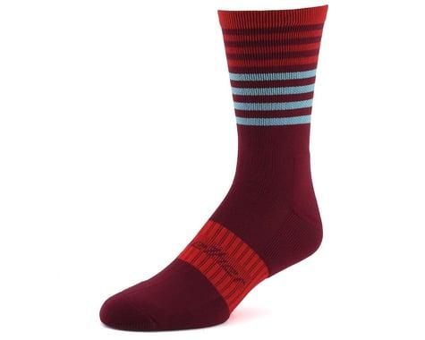 Bellwether Fusion Sock (Burgundy/Ferrari/Ice) (L/XL)