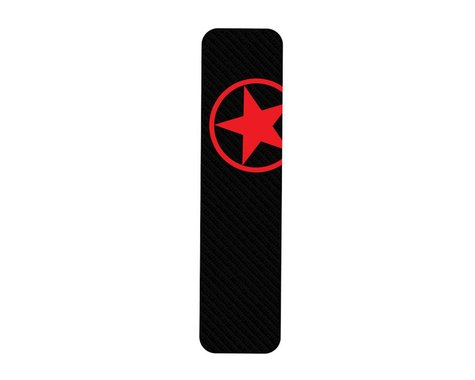 Bike Armor Downtube Frame Protector (Red Star)